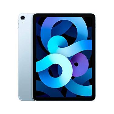 """Imagem de iPad Air 10,9"""" 4ª geração Wi-Fi + Cellular 256GB - Azul-céu"""