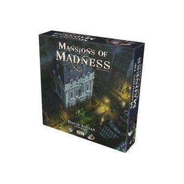 Mansions of Madness Ruas de Arkham Expansão Galápagos