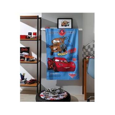 Imagem de Toalha de Banho Dohler Felpuda  70cm x 1,15m Carros 05