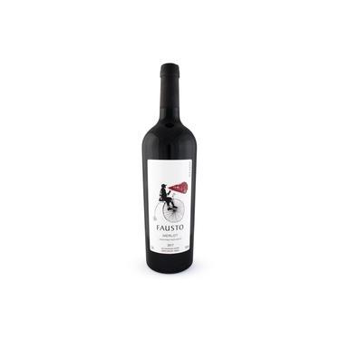Vinho Tinto Fausto Merlot