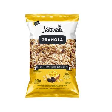 Granola Naturale Cereais Crocantes com Passas e Mel 1KG