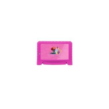 Imagem de Tablet Infantil Multilaser Azul Disney Quad Core Dual Câmera