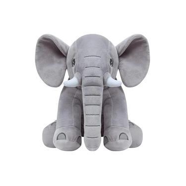 Imagem de Pelúcia Elefante - Cinza - Buba
