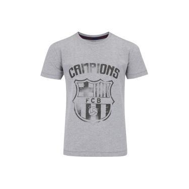 Camisas de Times de Futebol Casuais Barcelona Centauro  24a0bd7598ddd