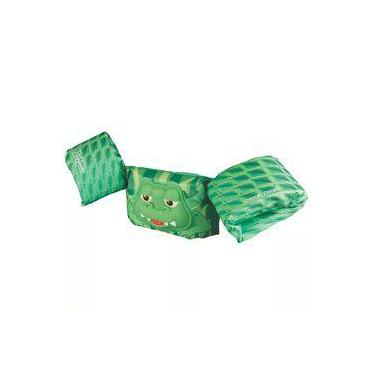 Boia Colete Salva Vidas Deluxe Puddle Jumper Coleman Verde