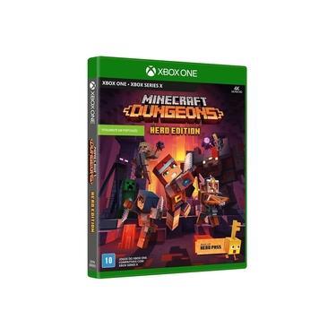 Jogo Minecraft Dungeons Xbox One (Mídia Física)