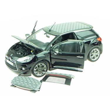Imagem de 2013 Citroen DS3 A56 Cabrio Black 1/18 Diecast Car Model by Norev