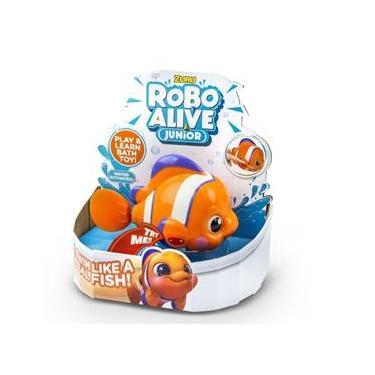 Imagem de Novo Brinquedo Infantil Robo Alive Junior Peixinho Dtc 4491