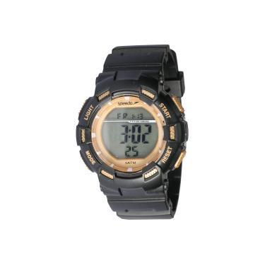5e724290d7f Relógio Digital Speedo 81168L0 - Feminino - PRETO OURO Speedo