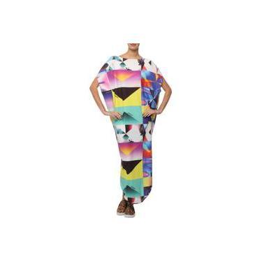 Vestido Longo Amapô Estampado