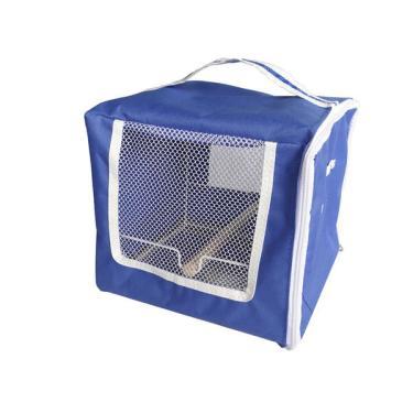 Bolsa de Transporte Animalíssimo Azul para Calopsita - Azul