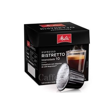 Cápsula De Café Compatível Com Nespresso Ristretto 10 Cápsulas - Melitta