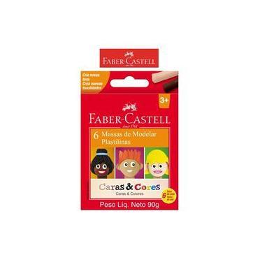 Imagem de Massa De Modelar Caras E Cores C/6 - Faber Castell