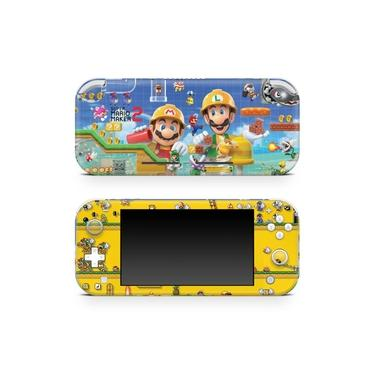 Skin Adesivo para Nintendo Switch Lite - Super Mario Maker 2
