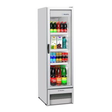 Expositor/Refrigerador Vertical Metalfrio 324 Litros VB28, Porta de Vidro  Branco