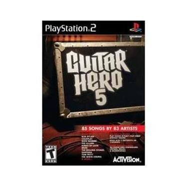 Jogo Guitar Hero 5 Para Ps2 Playstation 2