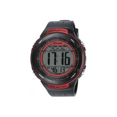 ecaaa131e06 Relógio Digital X Games XMPPD396 - Masculino - PRETO VERMELHO X-Games