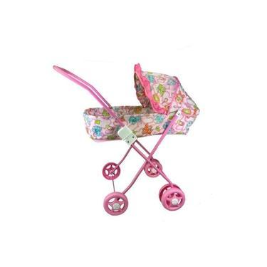 Imagem de Carrinho De Boneca Bebê Reborn Brinquedo Menina Dobravel
