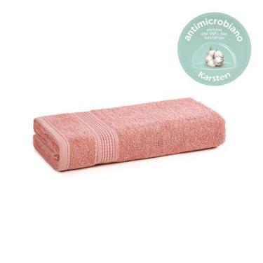 Imagem de Toalha De Rosto Karsten Antimicrobiana Fio Penteado Hera Lady Pink