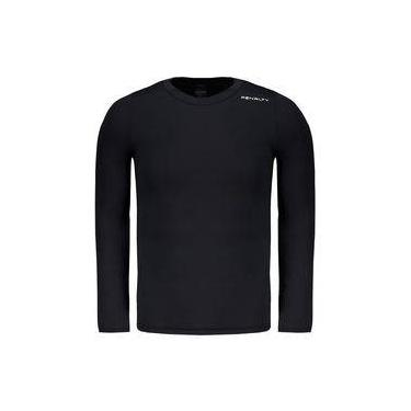 Camisa Térmica Penalty Matis VI Manga Longa Preta 326e0fa8a4232