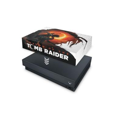 Capa Anti Poeira para Xbox One X - Shadow Of The Tomb Raider