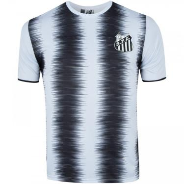 Camiseta do Santos Part - Masculina Braziline Masculino