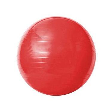 b61fadfeb3 Bola de Ginástica com Bomba de Ar Acte Sports Gym Ball 55cm - Vermelha