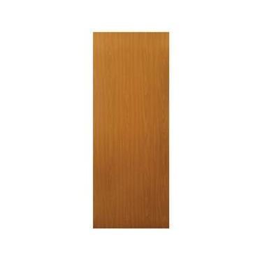 Porta de Madeira Lisa com Revestimento Melamínico 2,10mx60cmx30mm