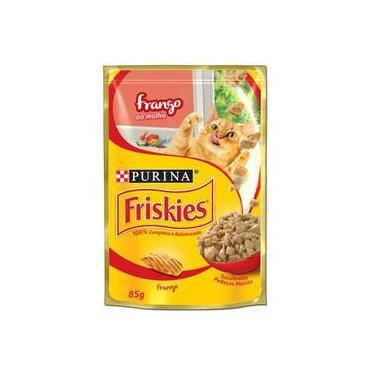 Ração Nestlé Purina Friskies Sachê Frango Ao Molho Para Gatos - 85 G