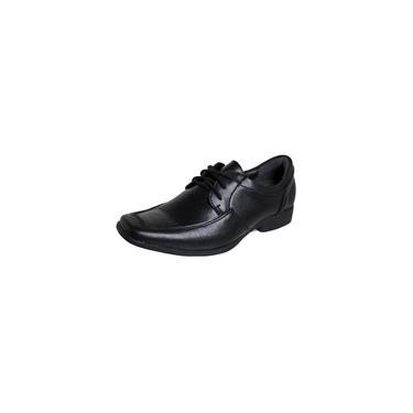 Sapato Social Infantil Cadarço Preto Finobel Preto 32