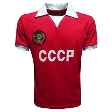 Camisa CCCP 1980 (União Sóvietica) Liga Retrô Vermelha P