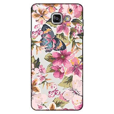 Capa Personalizada para Samsung Galaxy A5 2016 Flores - TP38
