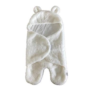 Kaczmarek Saco de dormir quente para bebê de inverno Saco de dormir com perna recém-nascida Abraço de veludo e cordeiro Saco de dormir com perna de caxemira