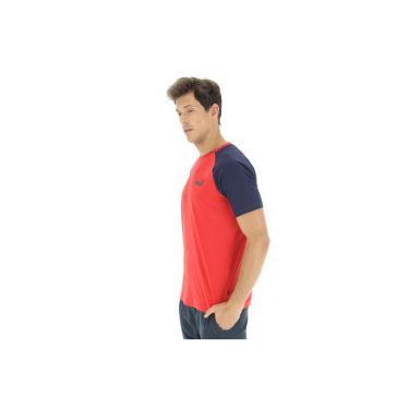 1dc51f7e8f Camiseta Puma Elevated Ess Raglan - Masculina - VERMELHO Puma