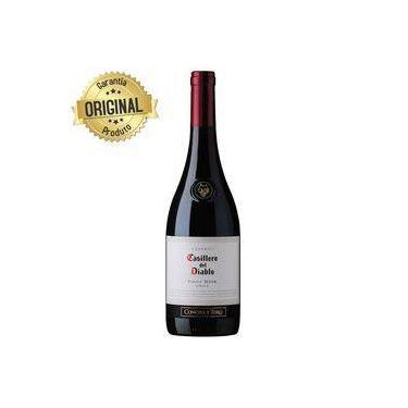 9d41b1998 Vinho Chileno Casillero Del Diablo Pinot Noir Tinto Seco Garrafa 750ml -  Concha Y Toro