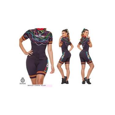 Bermuda Ciclismo Feminina Dunas - Nuvem