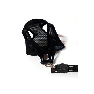 Colete Peitoral - Aerado Com Velcro Preto G