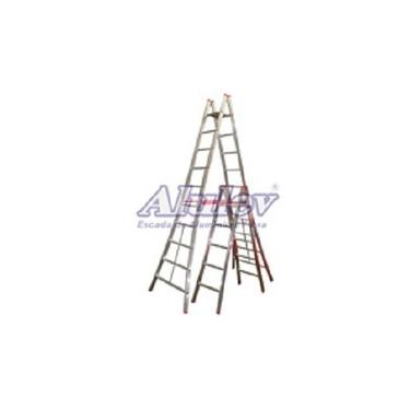 Escada Pintor dupla Alumínio Alulev PN119 6,00 metros 19 degraus