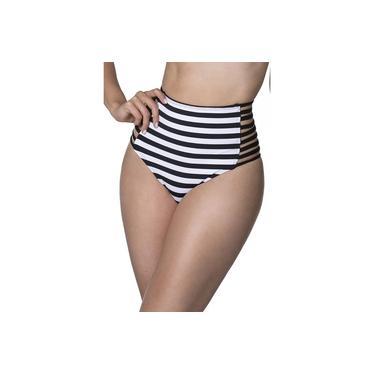 Biquíni Fio Hot Pants Cintura Alta Verão 2018