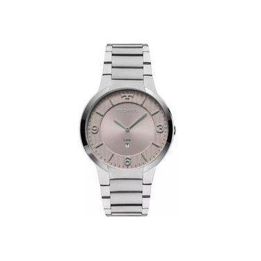 79f28308332 Relógio Technos Masculino Prateado Classic Slim Gl15ao 1c