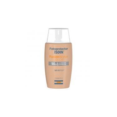 Protetor Solar Facial Isdin -  Fotoprotector Fusion Water Color FPS 50+ - 50ml -