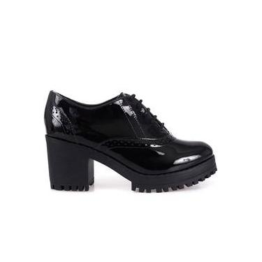 98f79c8b94 Sapato Oxford Bebecê Tratorado Verniz