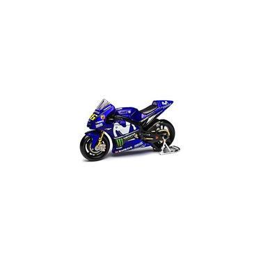 Imagem de Miniatura Moto gp Yamaha Galouises Azul 1:18 - Maisto