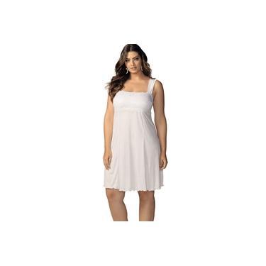 Camisola Meia Noite DeMillus 30201 Branco