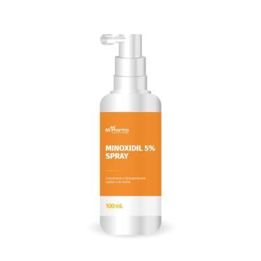 Minoxidil em spray 120 mL