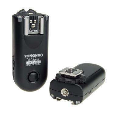 Imagem de Disparador de flash remoto sem fio rf603 argolas n1 para nikon d800 d700 d300 d200 d3x