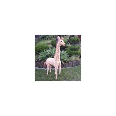 Imagem de Girafa De Pelúcia Safari - Gigante 120cm Maravilhosa!!!!