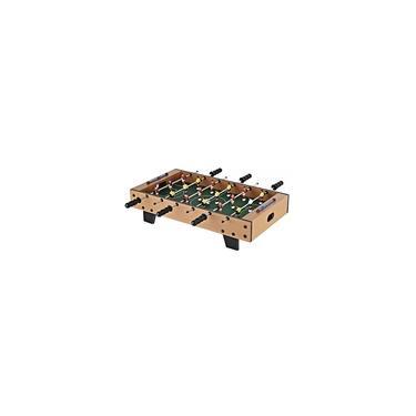 Imagem de Mesa De Pebolim Dm Toys Super Craque Master 18 jogadores Com Bolas Incluídas 70 x 37cm