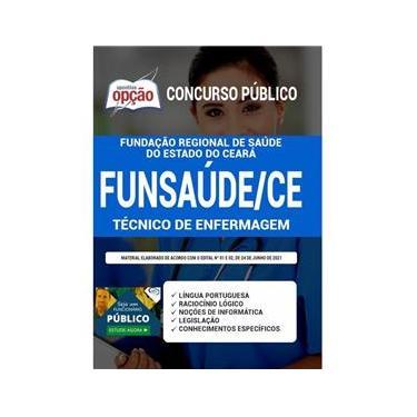 Imagem de Apostila Concurso Funsaúde Ce Técnico De Enfermagem