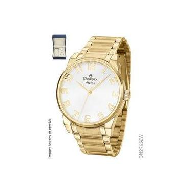 d5b2b67e6d0 Kit Relógio Champion Dourado Feminino CN27652W